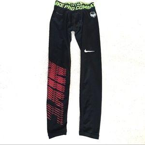 Nike Pro Combat Dri-Fit Football Tights Black-S